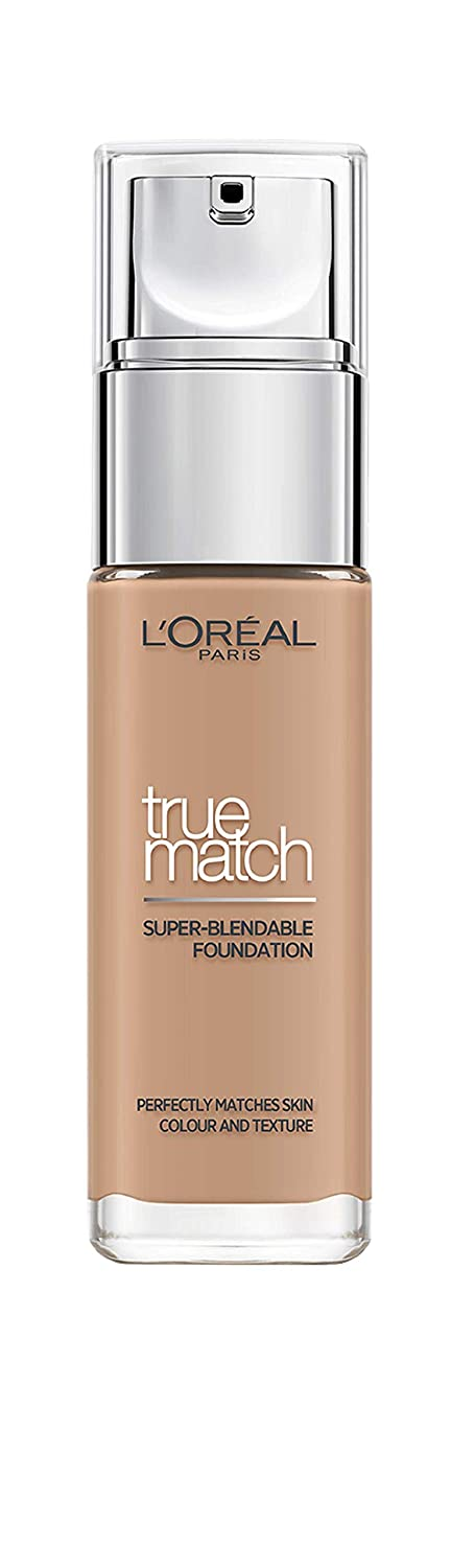 LOréal Paris True Match R5/C5 base de maquillaje Frasco dispensador Líquido 30 ml - Base de maquillaje (R5/C5, Piel Medio, Piel normal, Frasco dispensador, ...