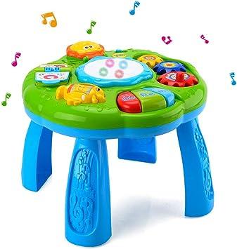 HANMUN - Mesa de Aprendizaje Musical para bebé, Juguete de ...