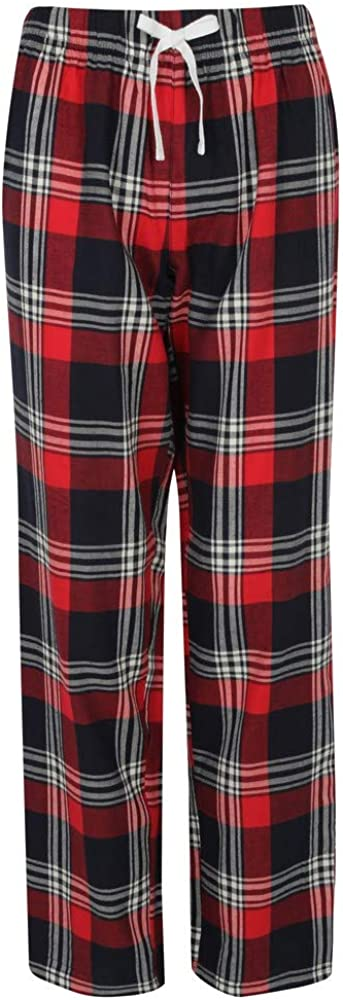 Skinnifit Pantalon de Pyjama Tartan Femme