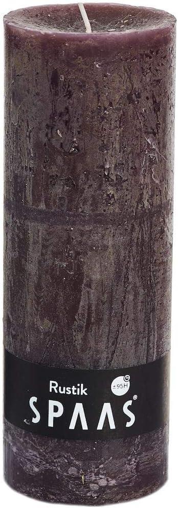 Turquoise 75 Heures Spaas rustique sans pilier bougie 100//mm