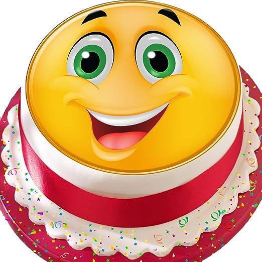 Decoración comestible para tarta de cumpleaños, diseño de ...
