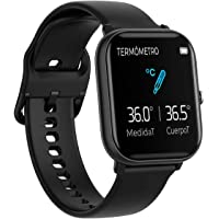 BINDEN Smartwatch P8 Pro Termómetro, Pantalla Touch, Multicarátulas, Monitor de Salud y Deportivo, Compatible con iOS y…