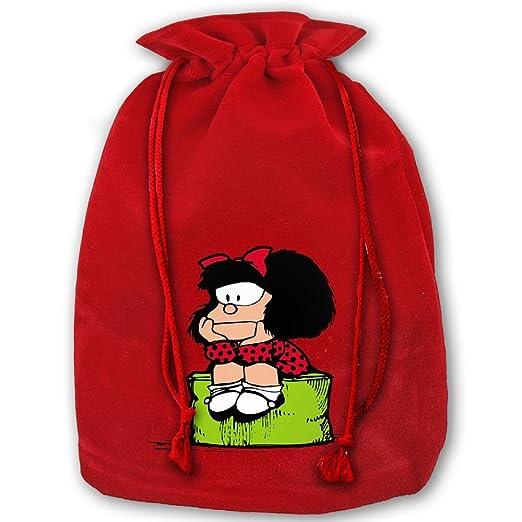 Mafalda cordón bolsas de regalo de Navidad hecho de ...