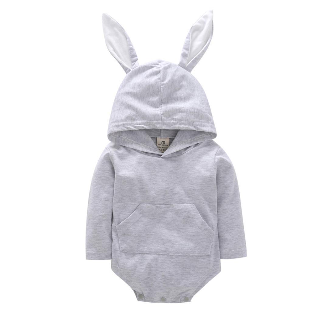 erthome - Sweat-Shirt à Capuche - Manches Longues - Bébé (Fille) 0 à 24 Mois