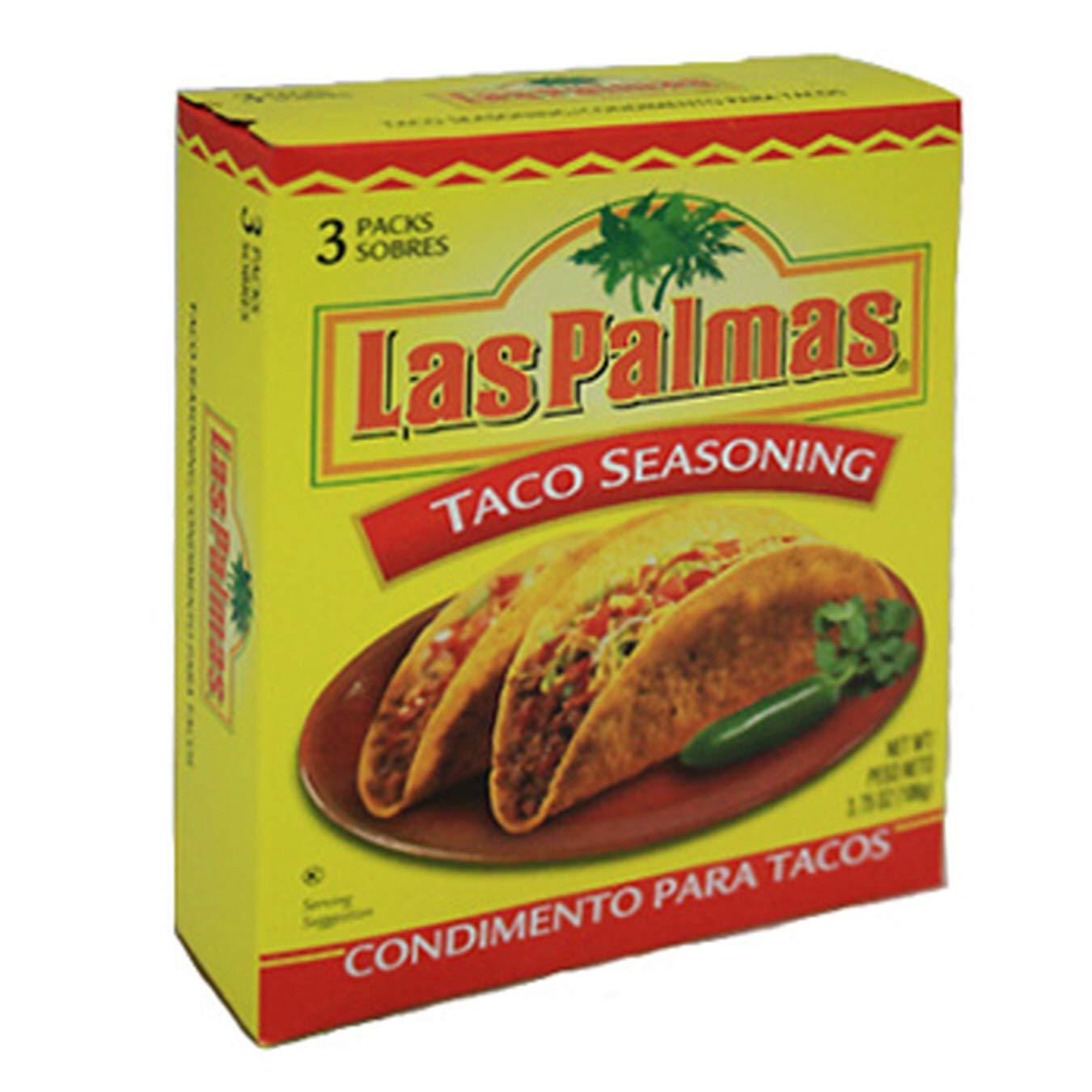 (Pack of 12, 36 Ct) Las Palmas Taco Seasoning