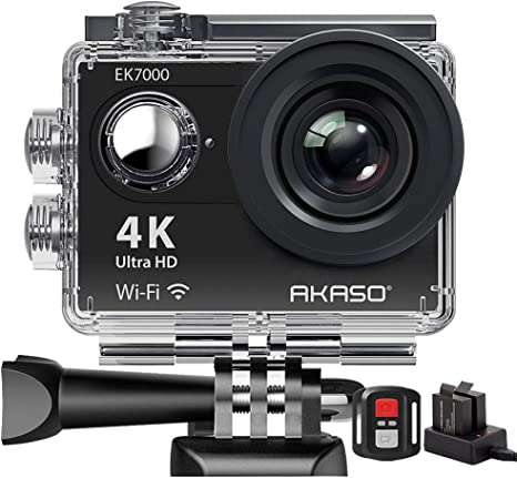 AKASO SY0004 - Camara de accion deportiva WIFI 170 °, Ultra amplio ...