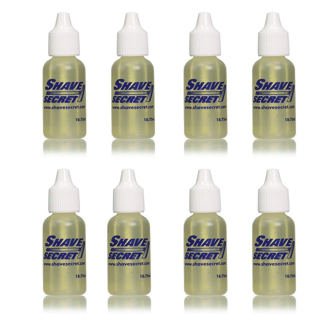 PACK OF 8 - Shave Secret Shaving Oil, 0.63 fl oz