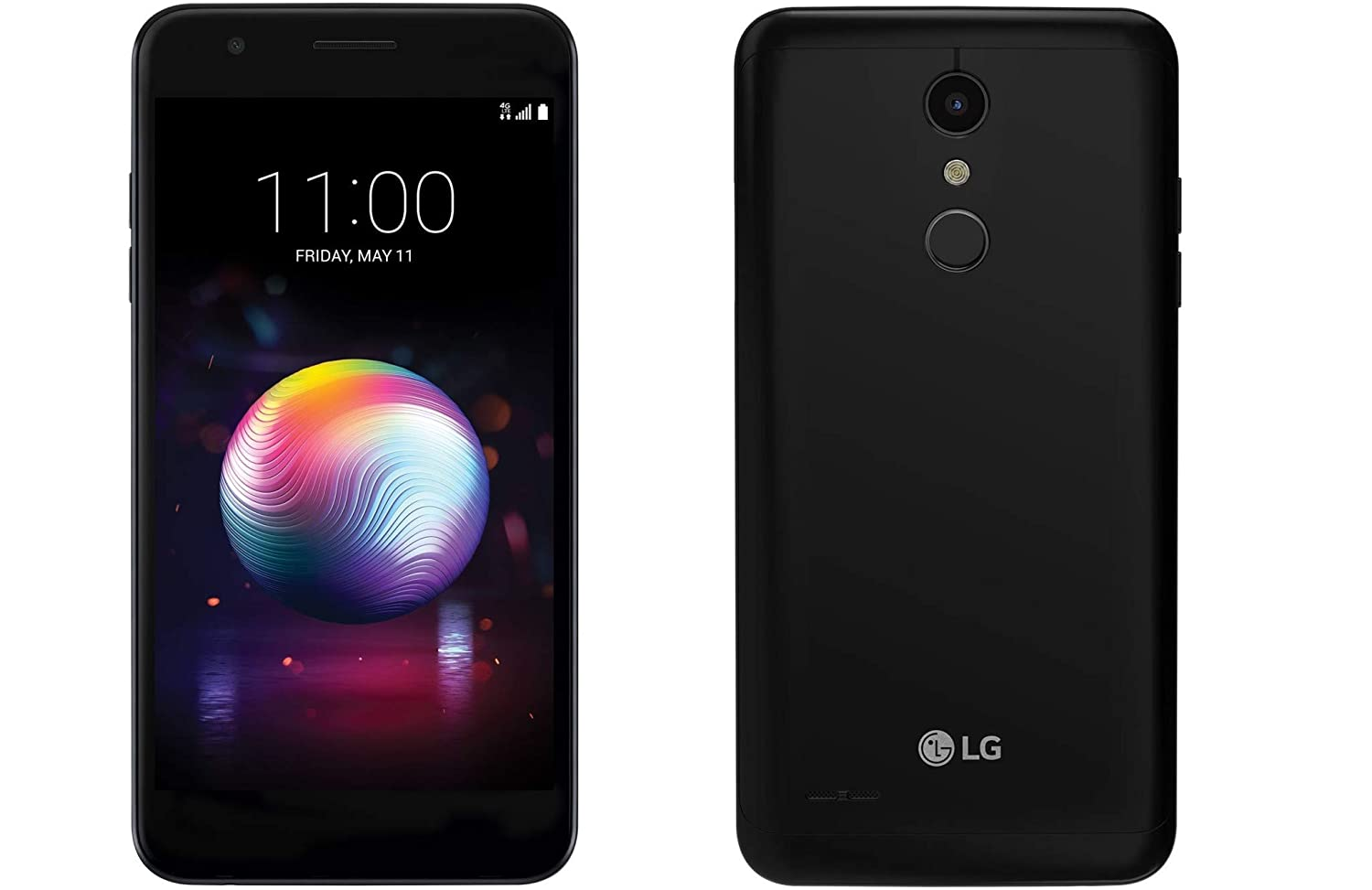 LG K30 LM-x410 5 3in Smartphone 32GB TMobile Android (Renewed) (Black)