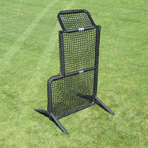 Jugs Protector Series Short-Toss Protective Screen - Baseball and Softball Pitcher Protection, 7'H x 4'W, Heavy Duty 691-90 Ply Poly-E Netting and Frame Construction, 2-Year Guarantee, Easy Assembly ()