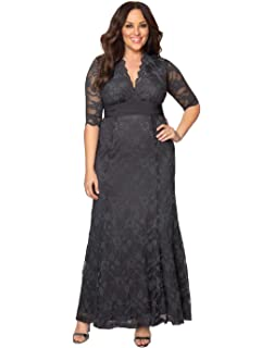 e0a339fb8a919 Kiyonna Women s Plus Size Soiree Evening Gown at Amazon Women s ...
