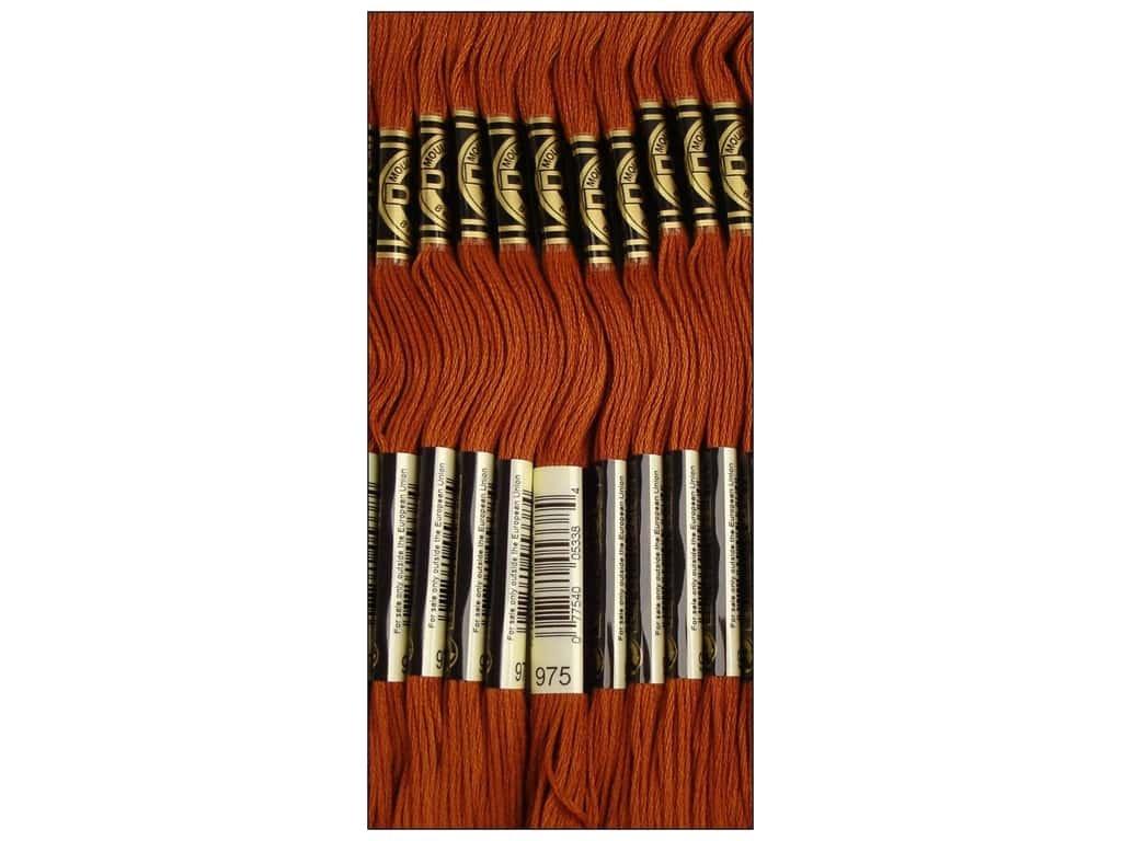 DMC Thread Six Strand Embroidery Cotton 8.7 Yards Very Light Mocha Brown 117-3033 Bulk Buy 12-Pack