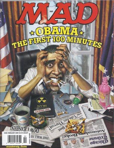 Mad Magazine # 498 (February 2009,Obama)