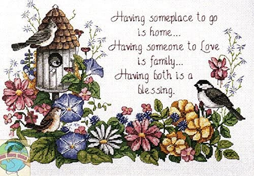 Counted Cross Stitch Pattern To Be Blessed