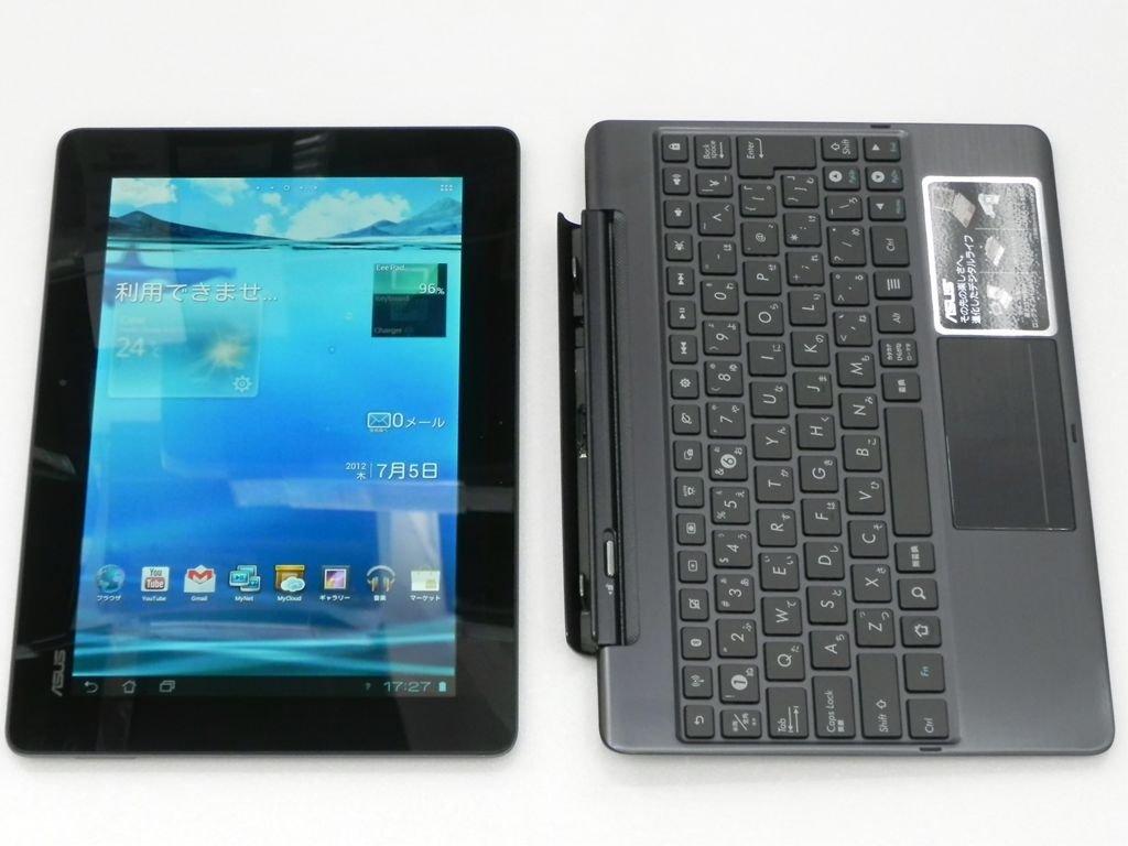 ASUSTek ASUS タブレットパソコン Eee Pad TF201 TF201-PR64D B006ZVNDL6