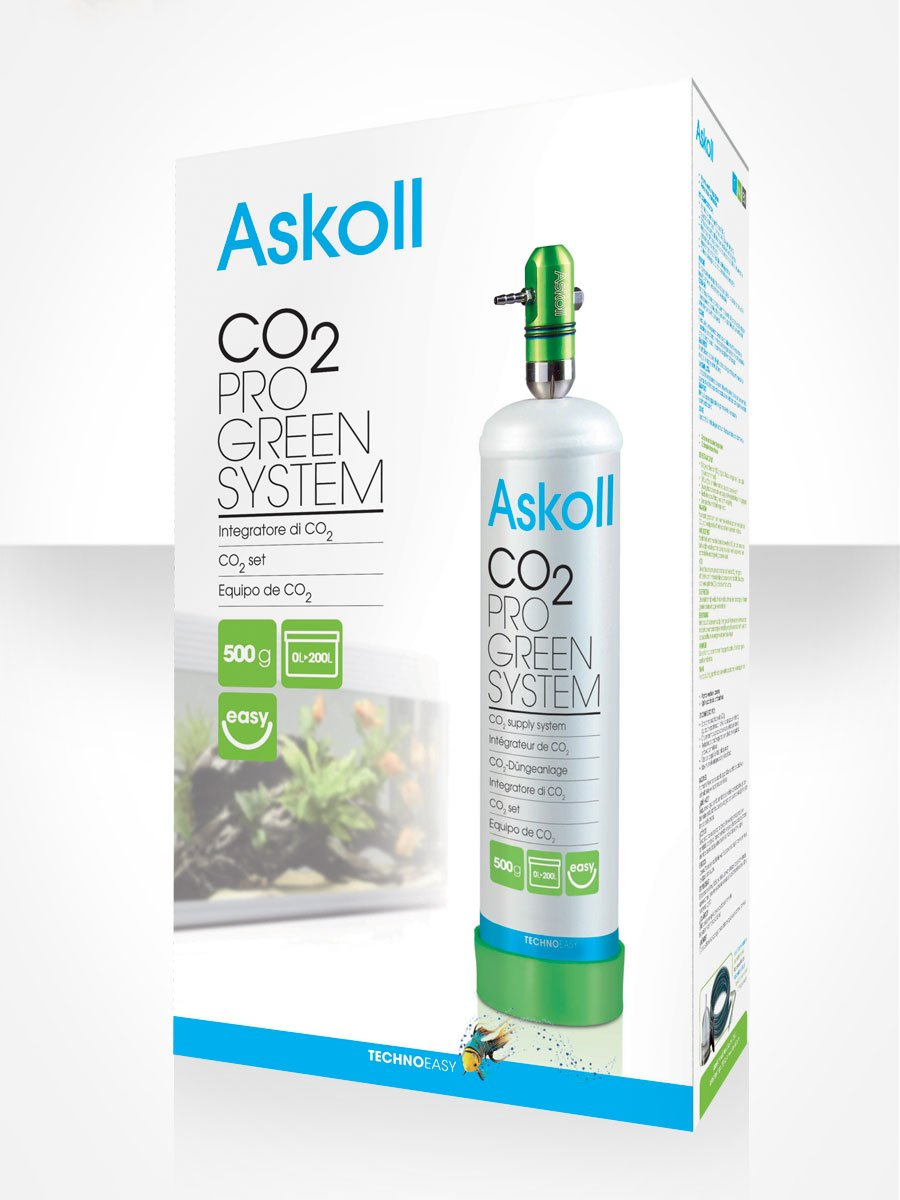 Askoll CO2 Pro Green System - Sistema de Integración de CO2 para acuarios: Amazon.es: Hogar