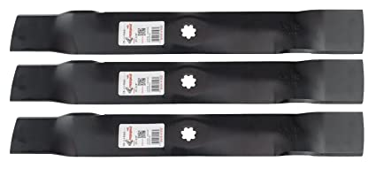 GY20850 11593 50-3231 USA 330-441 4 Pack of Blades for John Deere GX22151