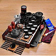 Tea Pot and Tea Cup Full Set Set Solid Wood Tea Tray Teapot 27-piece Tea Suit Chinese Tea Ceremony