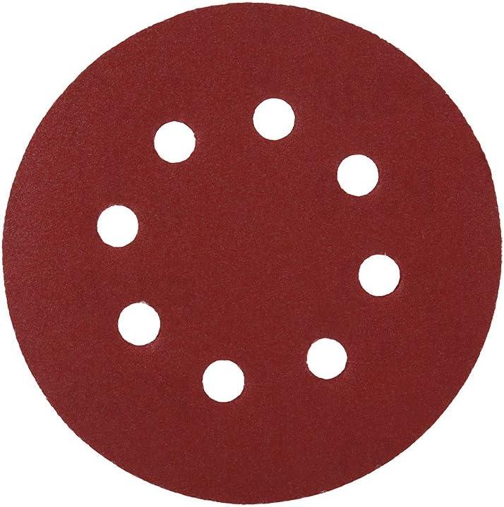 10pcs 5 Inch Hook And Loop 3000//5000 Grit Sand Paper Sanding Discs 125mm Dia Pad