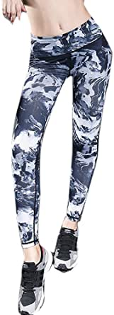 Whitewed Patterned Gym Fitness Yoga Athletic Pants Wear Clothes Bottoms Leggings