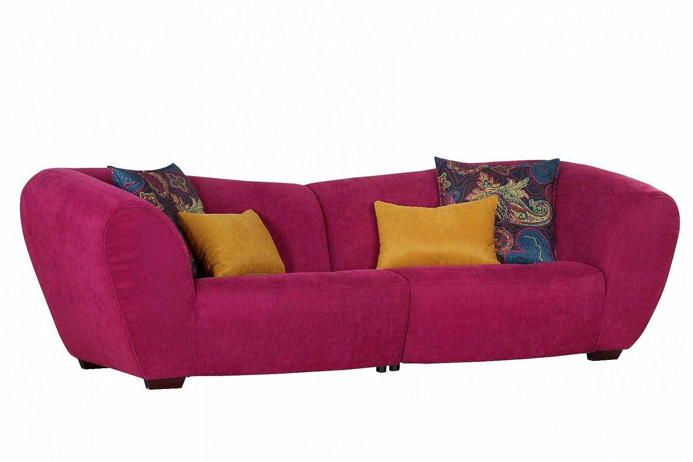 Sofa Big Himbeer Stoff Günstig Online Bestellen