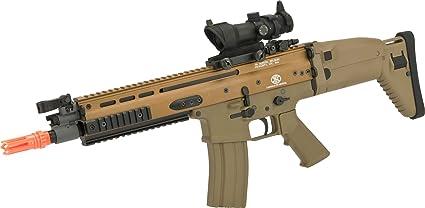 Amazon.com: FN Scar L AEG - Tan: Sports & Outdoors