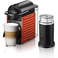 Nespresso C66R Red C66R Pixie Red Bundle, Kırmızı