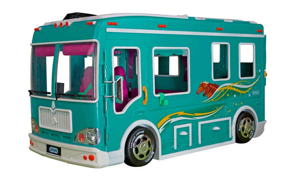 Breyer Classics Horse Cruiser Vehicle Teal (1: 12 Scale), 19'' x 8.5'' x 10.25'', Multicolor by Breyer (Image #2)