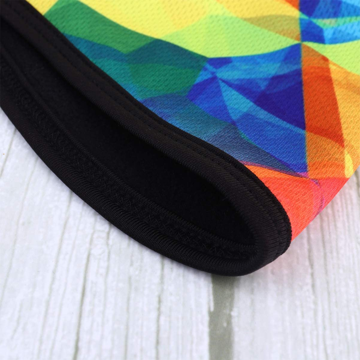 Minkissy Winter Stirnband Ohrenw/ärmer Haarband Bunten Kopf Wickeln f/ür Winter Laufen Yoga Skifahren Reiten Fahrrad Raute