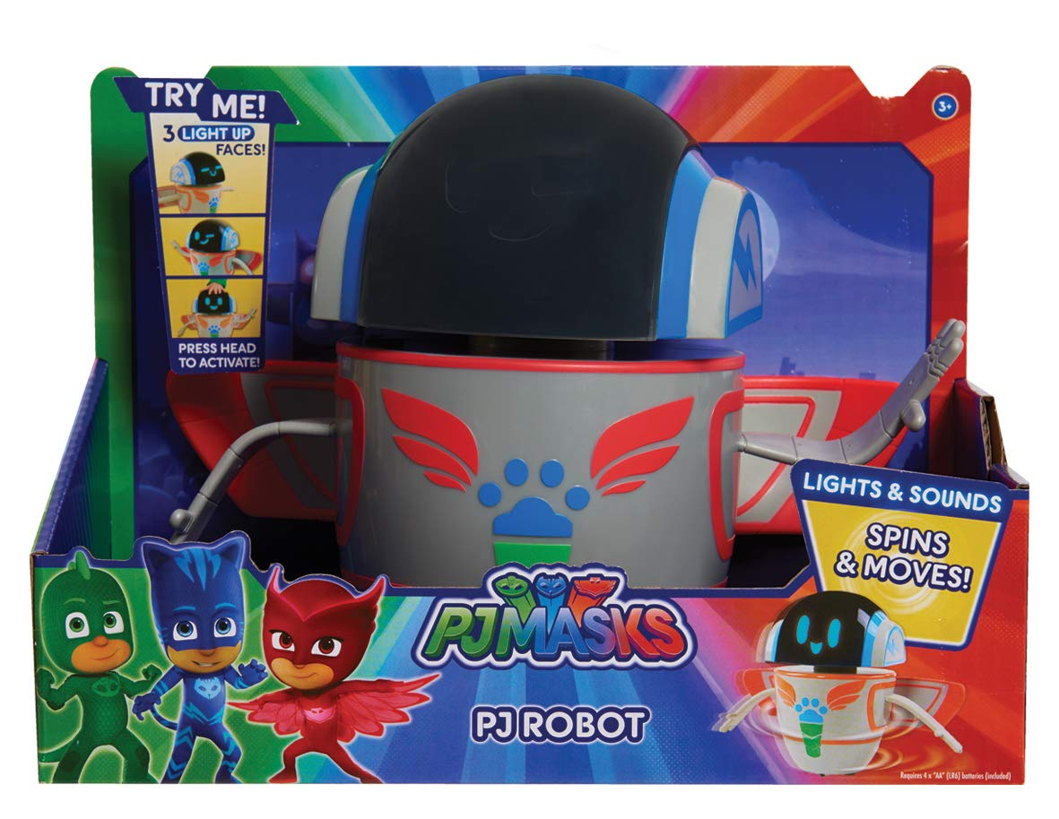 PJ Masks Lights & Sounds Robot, Multicolor, 9'' by PJ Masks (Image #5)