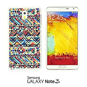 OnlineBestDigital - Geometrical Pattern Hardback Case for Samsung Galaxy Note 3 N9000 - Funny Tribal Print