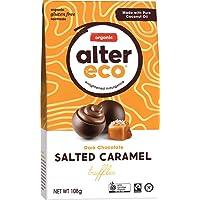 ALTER ECO Organic Dark Chocolate Salted Caramel Truffles, 108 g