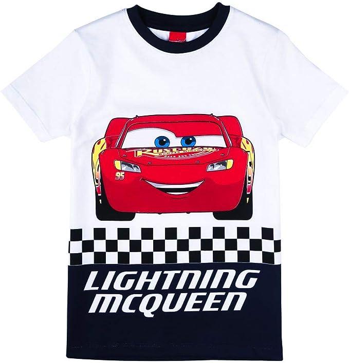 Disney Niños Cars Camiseta, Azul, Talla 128, 8 años: Amazon.es: Ropa y accesorios