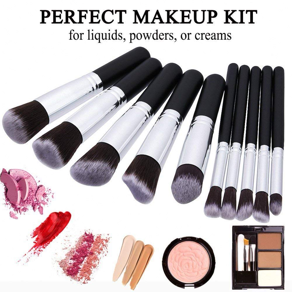6b6837927157 Amazon.com: Dkhilly Professional Complete Makeup Brush Set Premium ...