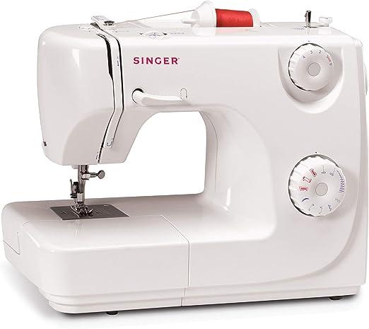 Singer 8280 - Máquina de coser automática, 8 puntadas, color blanco: Amazon.es: Hogar