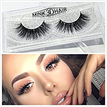 df1bfa74bc4 Amazon.com : Mink 3D Lashes Eyelash Strips Dream Long Thick Dramatic Look  Handmade Reusable False Eyelashes For Makeup 1 Pair Package (Dramatic) :  Beauty