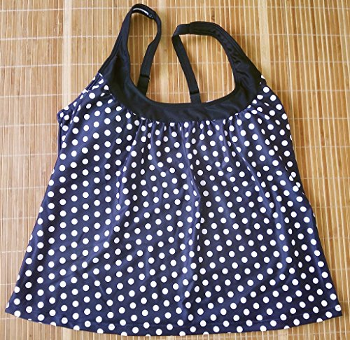 Eternatastic-Womens-Retro-Polka-Dot-Tankini-Swimwear-Two-Pieces-Swimsuit