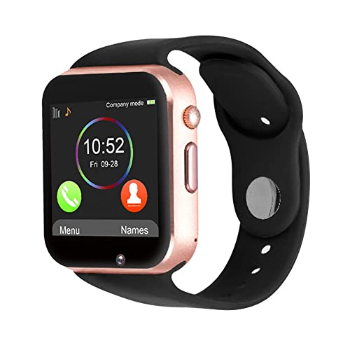 Padcod GSM Bluetooth Smart Watch with Camera and SIM TF Card Solt Sport Smart Wrist Phone Fitness Activity Tracker Wristband with Sleep Monitor Pedometer Health Watch Bracelet for Android