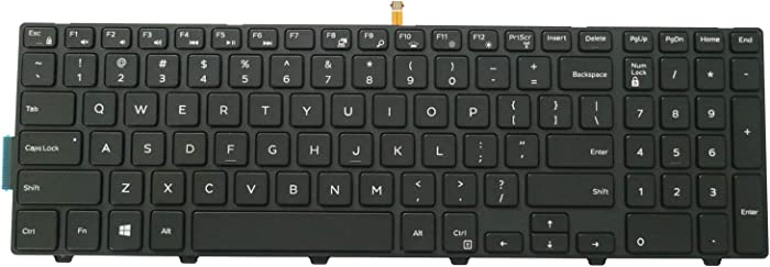 AUTENS Laptop Replacement Keyboard for Dell Inspiron 15 5000 Series 5542 5543 5545 5547 5548 5552 5557 5558 5559, 15 3000 Series 3541 3542 3543 3552 3553 3558 3559 (Backlight)