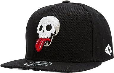 Hombres Chicos Modernos 3D Bordado Cráneo Gorra de Beisbol Gorra ...
