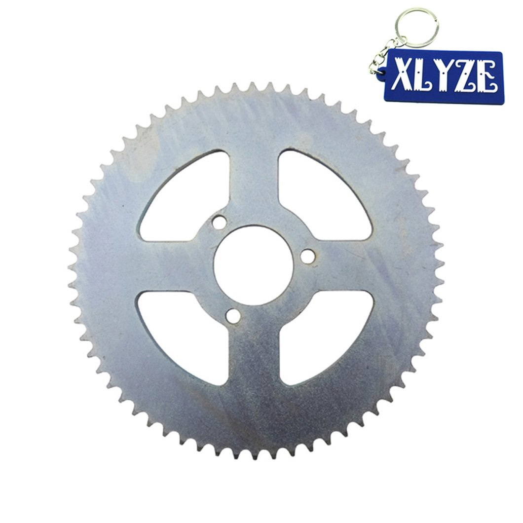 XLYZE T8F 64 Tooth 35mm Rear Chain Sprocket for 47cc 49cc Mini Moto Dirt Baby Cross Motard Pocket Bike ATV Quad Scooter