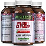Tri-Blend Weight Loss Supplement with Pure Garcinia Cambogia HCA, Green Coffee Bean and Raspberry Ketones Complex Best Fat Burner Natural Diet Pills for Men and Women 60 Capsules by Bio Sense