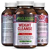 Tri-Blend Weight Loss Supplement with Pure Garcinia Cambogia HCA, Green Coffee Bean and Raspberry Ketones Complex Best Fat Burner Natural Diet Pills for Men and Women 60 Capsules by Bio Sense For Sale