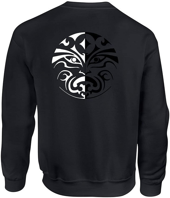 XL, Black Allntrends Adult Crewneck Sweatshirt The Faceless Men Valar Morghulis