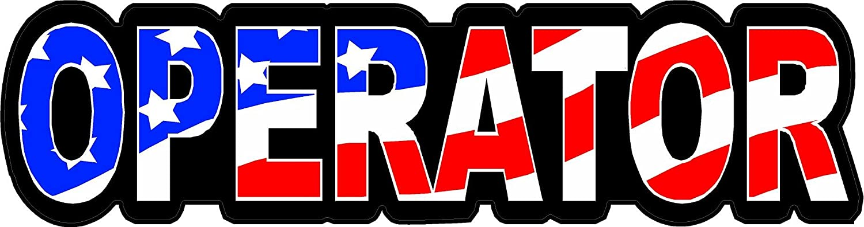 "Union US Flag Hard Hat//Helmet Stickers 1"" x 2"" H156 3"