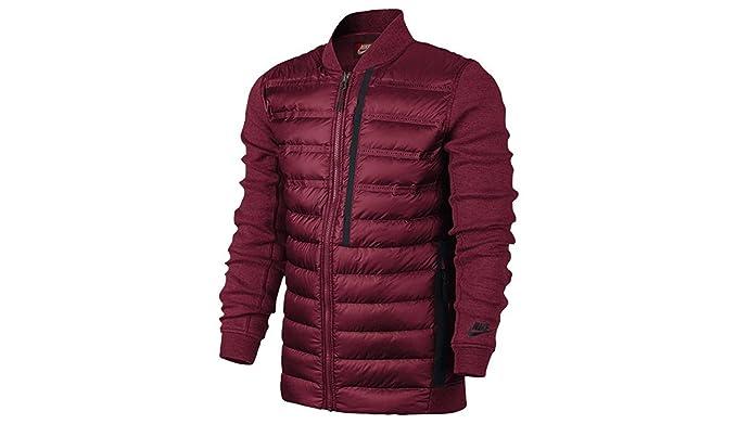 7c272fb149a2 NIKE TECH Fleece AEROLOFT Bomber Men s Jacket at Amazon Men s Clothing  store