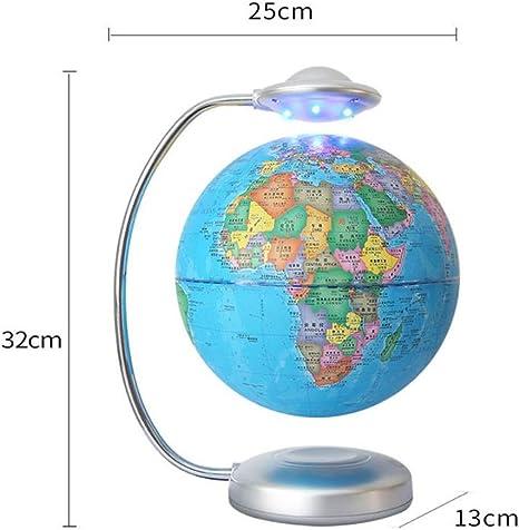 Globo flotante de levitación magnética, globo del mapa del mundo ...