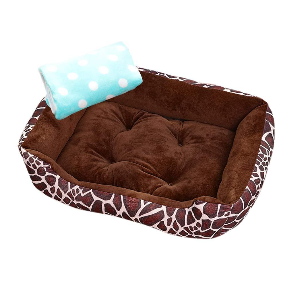 犬小屋 brown、暖かい冬、中型 Pattern、小型犬、ペットの巣 white)、大型犬、猫と犬のマット、犬小屋四季 (色 : Pattern white) B07P518ZLH Pattern brown Pattern brown, 品質は非常に良い:e92202a8 --- ijpba.info