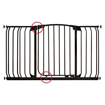 Amazon Com Dream Baby Tall Hallway Swinging Gate Combo Pack 38