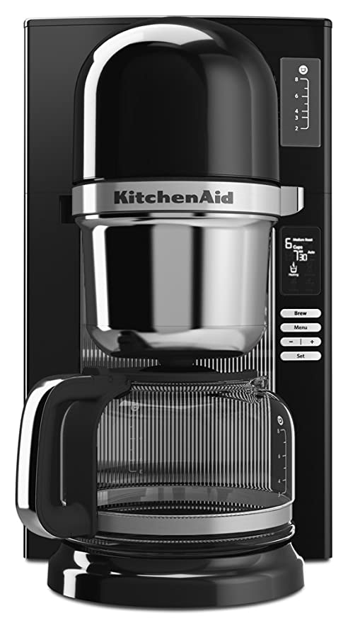 KitchenAid KCM0802OB - Cafetera (Independiente, Cafetera de filtro ...