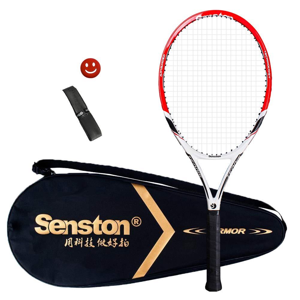 senston Raqueta de Tenis Unisex,Incluido Bolsa de Tenis/1 Grip/1 ...